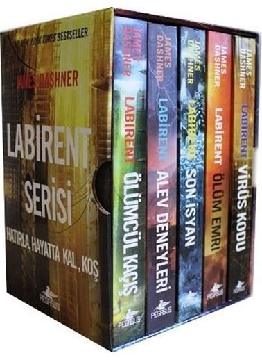 Morhipo kitap Labirent Serisi Kitap Seti (5 Kitap) Renkli